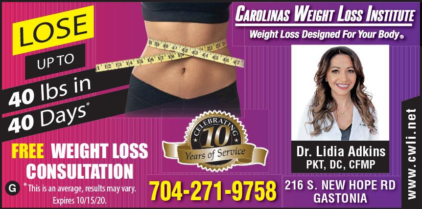 CAROLINAS WEIGHT LOSS INS