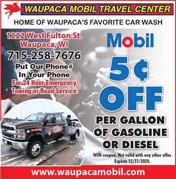 WAUPACA MOBIL TRAVEL
