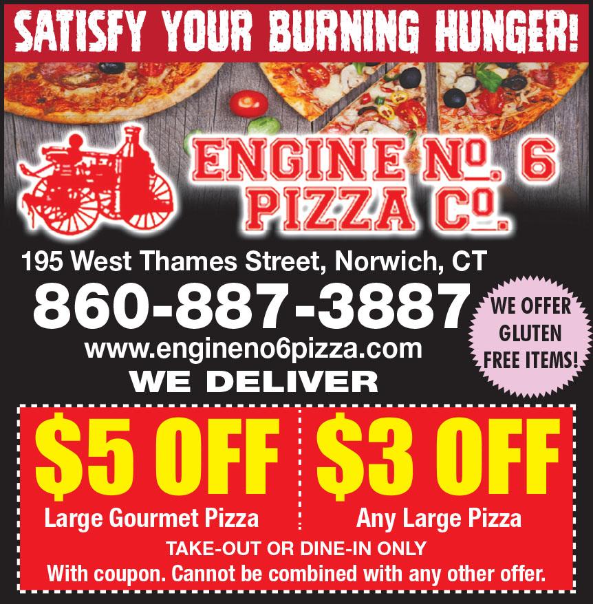 ENGINE NO 6 PIZZA