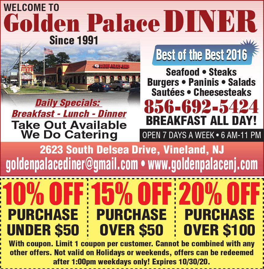 GOLDEN PALACE DINER