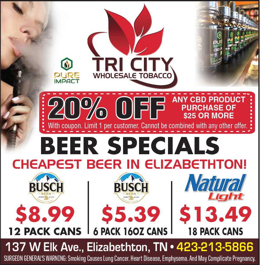 TRI CITY WHOLESALE TOBACC