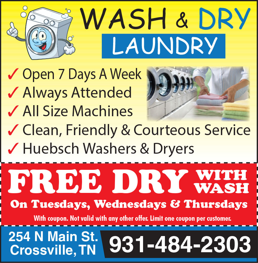WASH AND DRY LAUNDRY