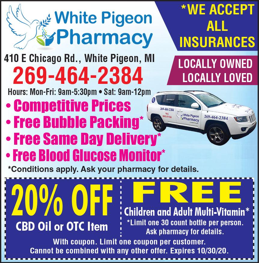 WHITE PIGEON PHARMACY