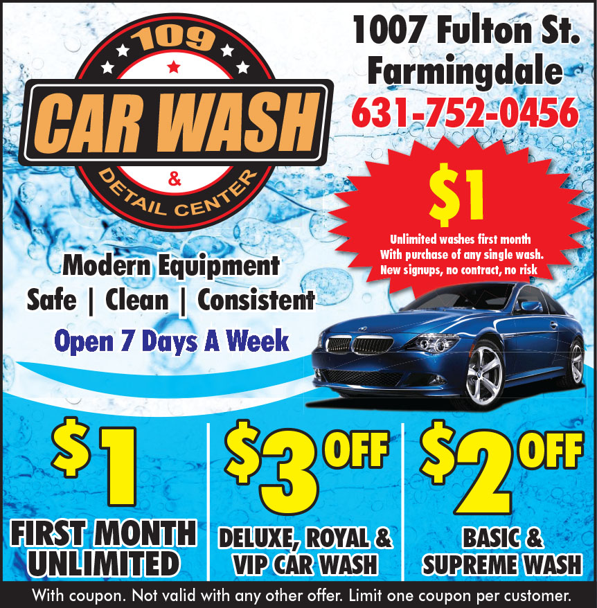 109 CAR WASH AND DETAIL