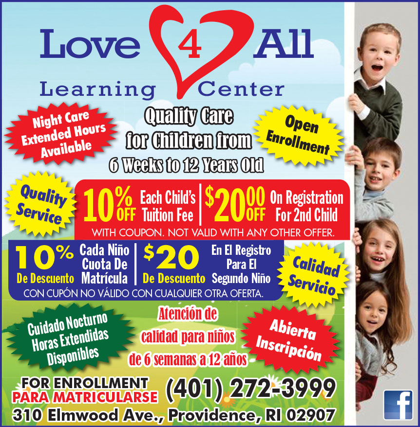 LOVE 4 ALL LEARNING CENTE