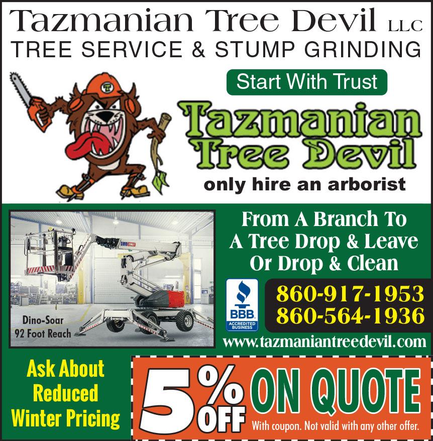TAZMANIAN TREE DEVILL LLC