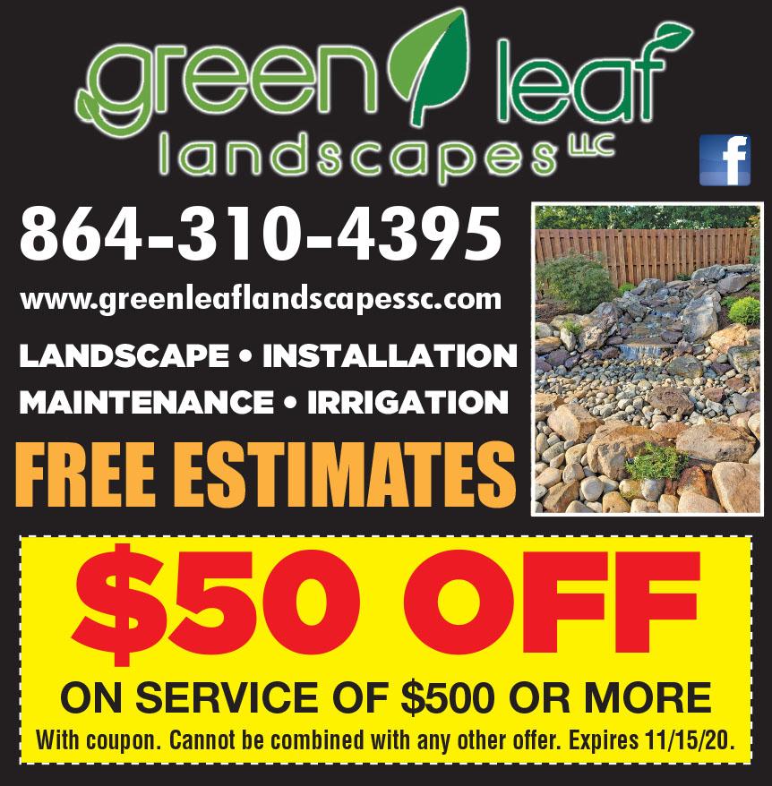GREEN LEAF LANDSCAPING