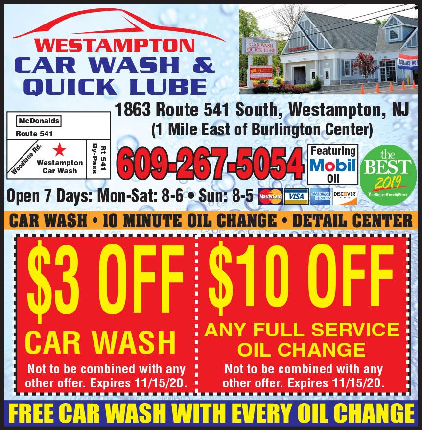 WESTAMPTON CAR WASH