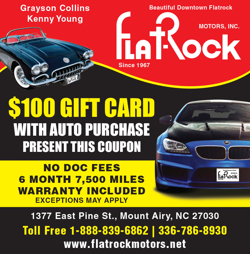 FLAT ROCK MOTORS INC
