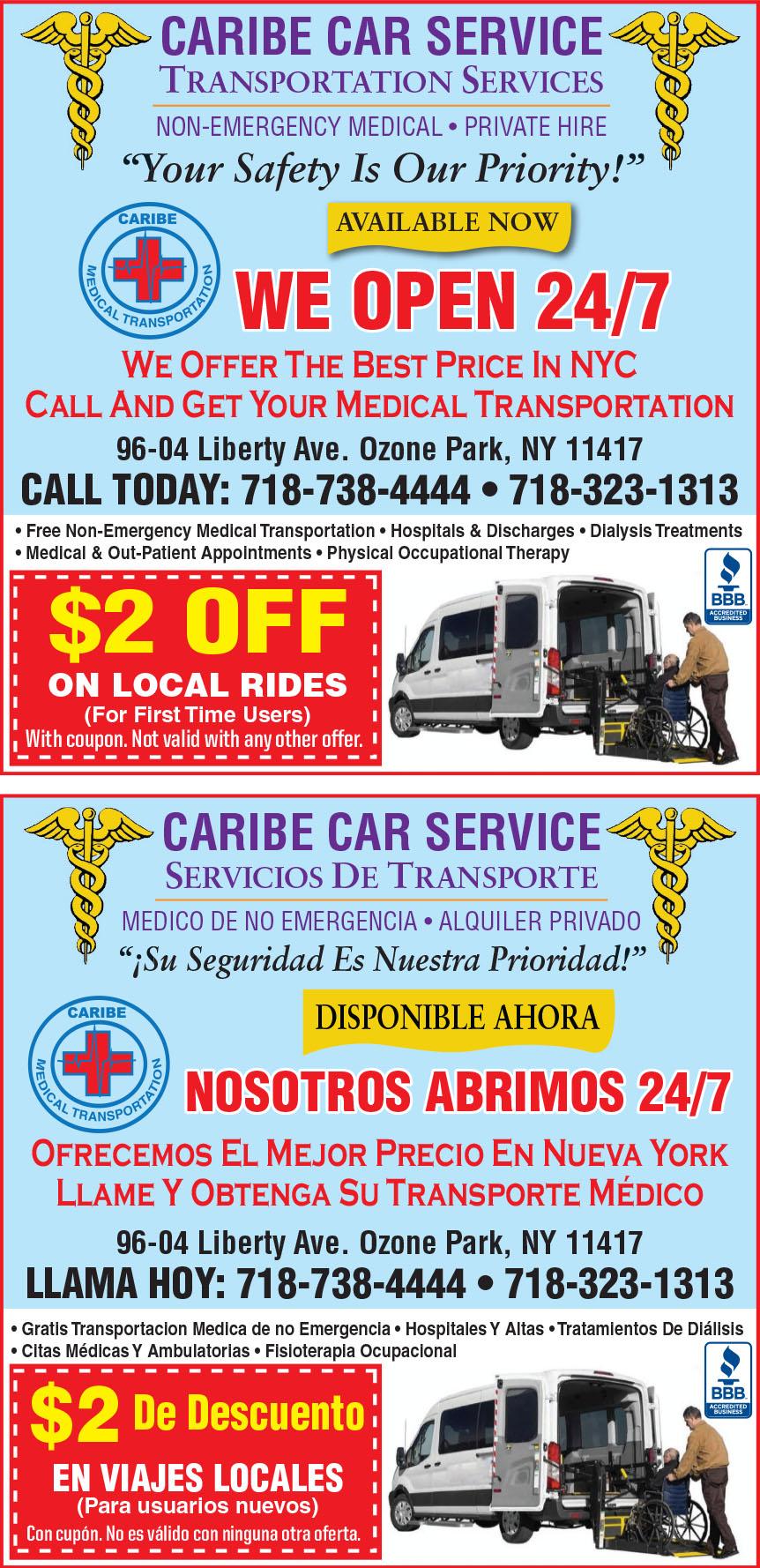 CARIBE CAR SERVICE