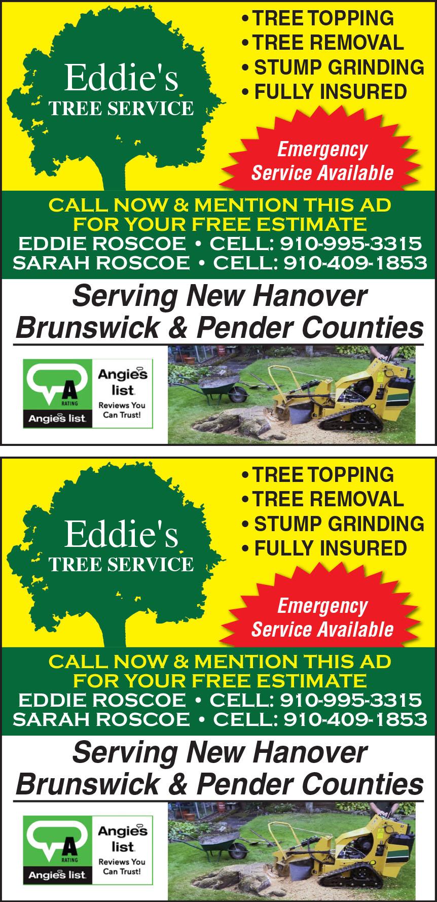 EDDIES TREE SERVICE INC