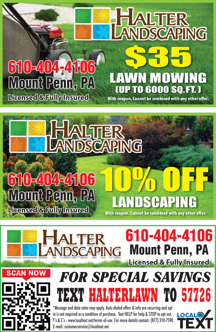 HALTER LANDSCAPING