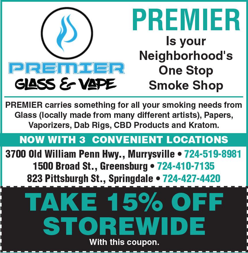 PREMIER GLASS AND VAPE