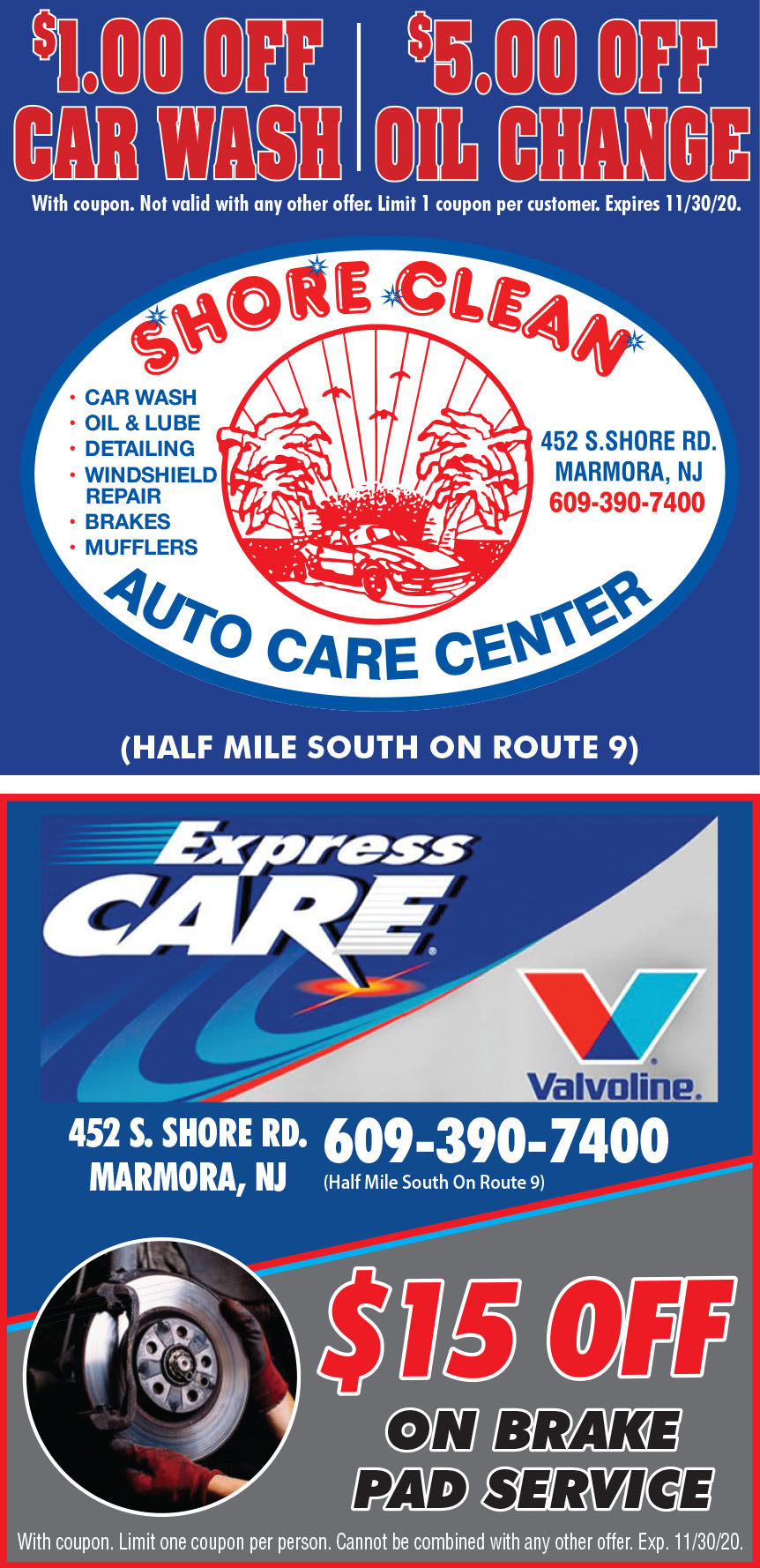 SHORE CLEAN EXPRESS CARE