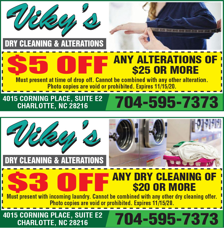 VIKYS DRY CLEANERS