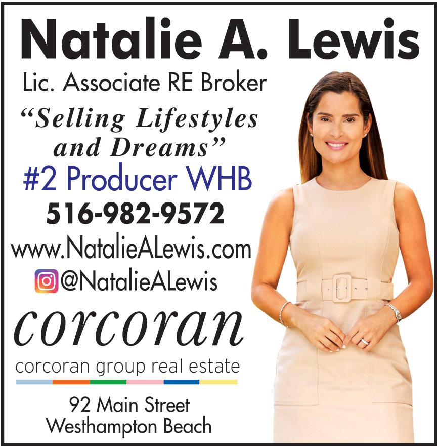NATALIE LEWIS CORCORAN