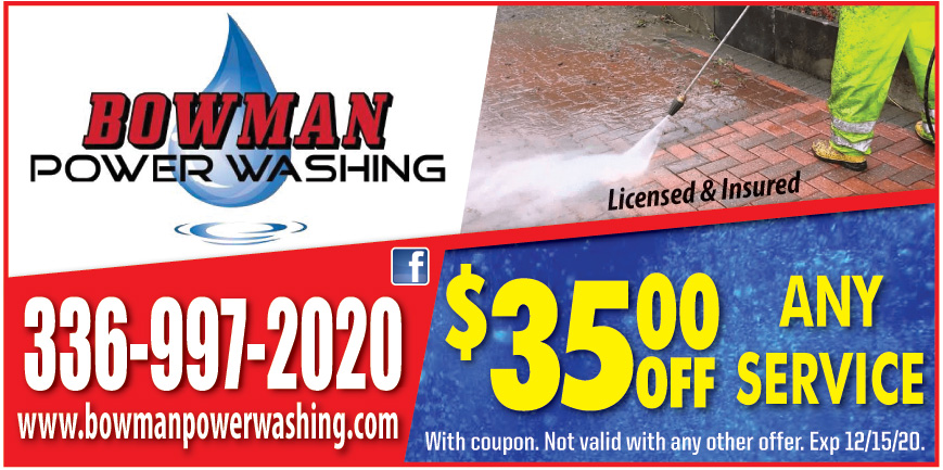 BOWMAN POWERWASHING