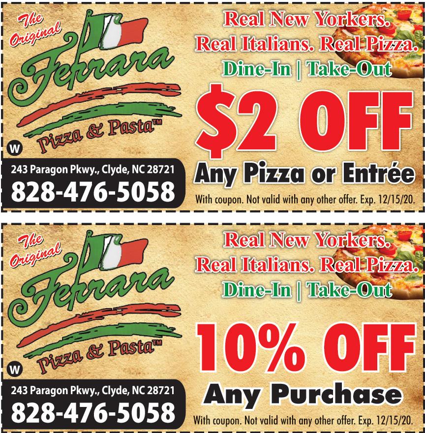 FERRARA PIZZA AND PASTA