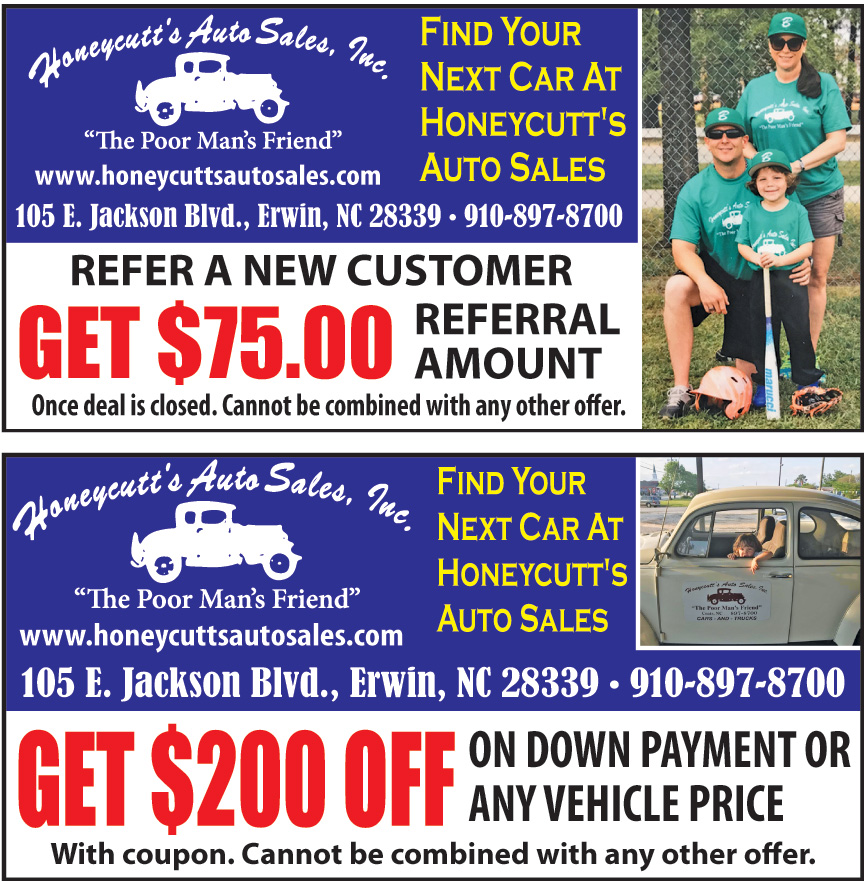 HONEYCUTTS AUTO SALES INC
