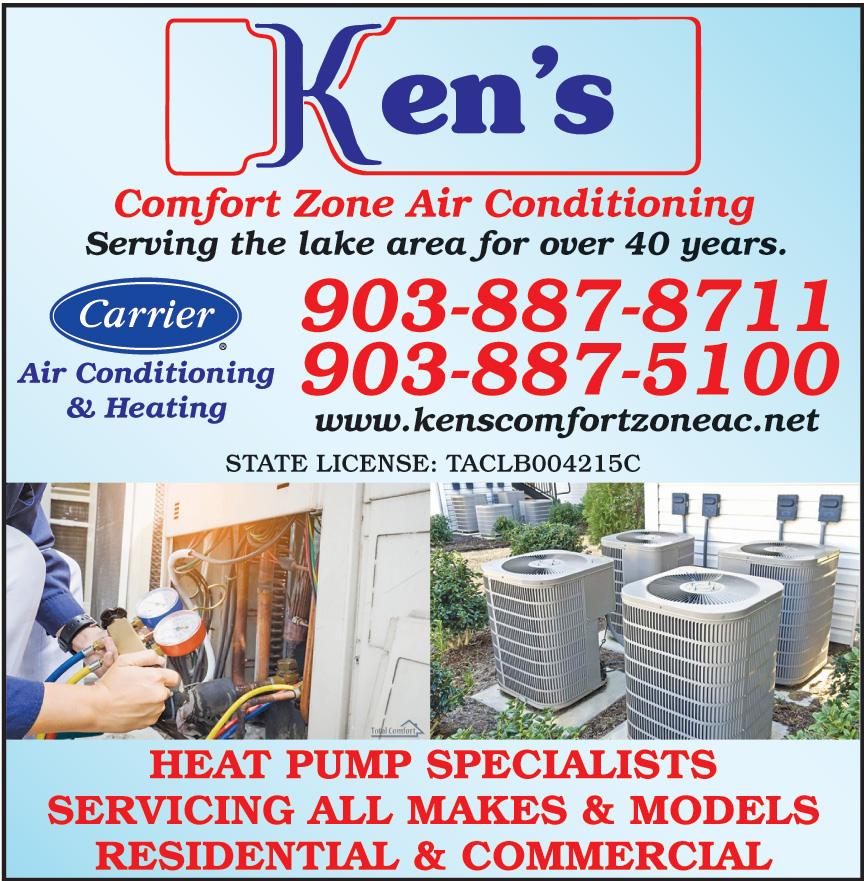 KENS COMFORT ZONE AIR