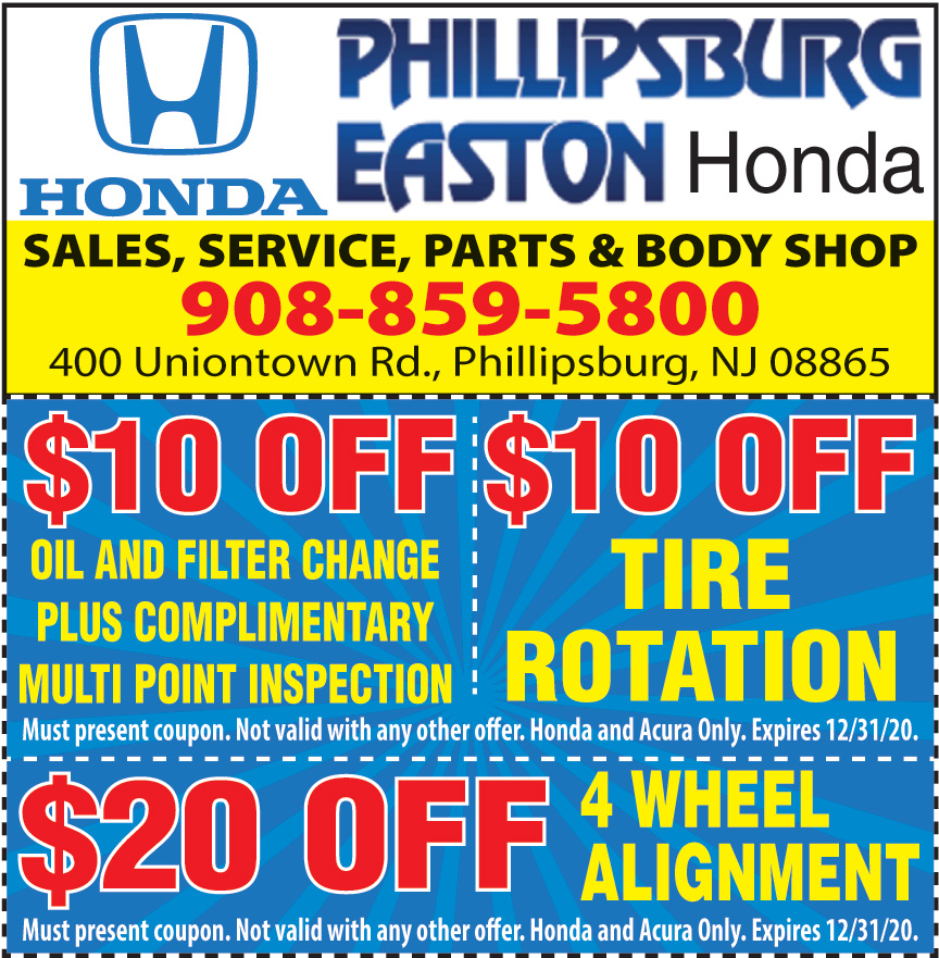 PHILLIPSBURG EASTON HONDA