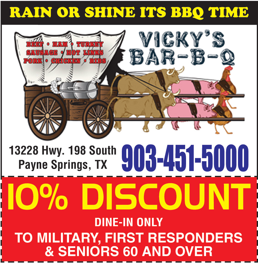 VICKYS BAR B Q LLC