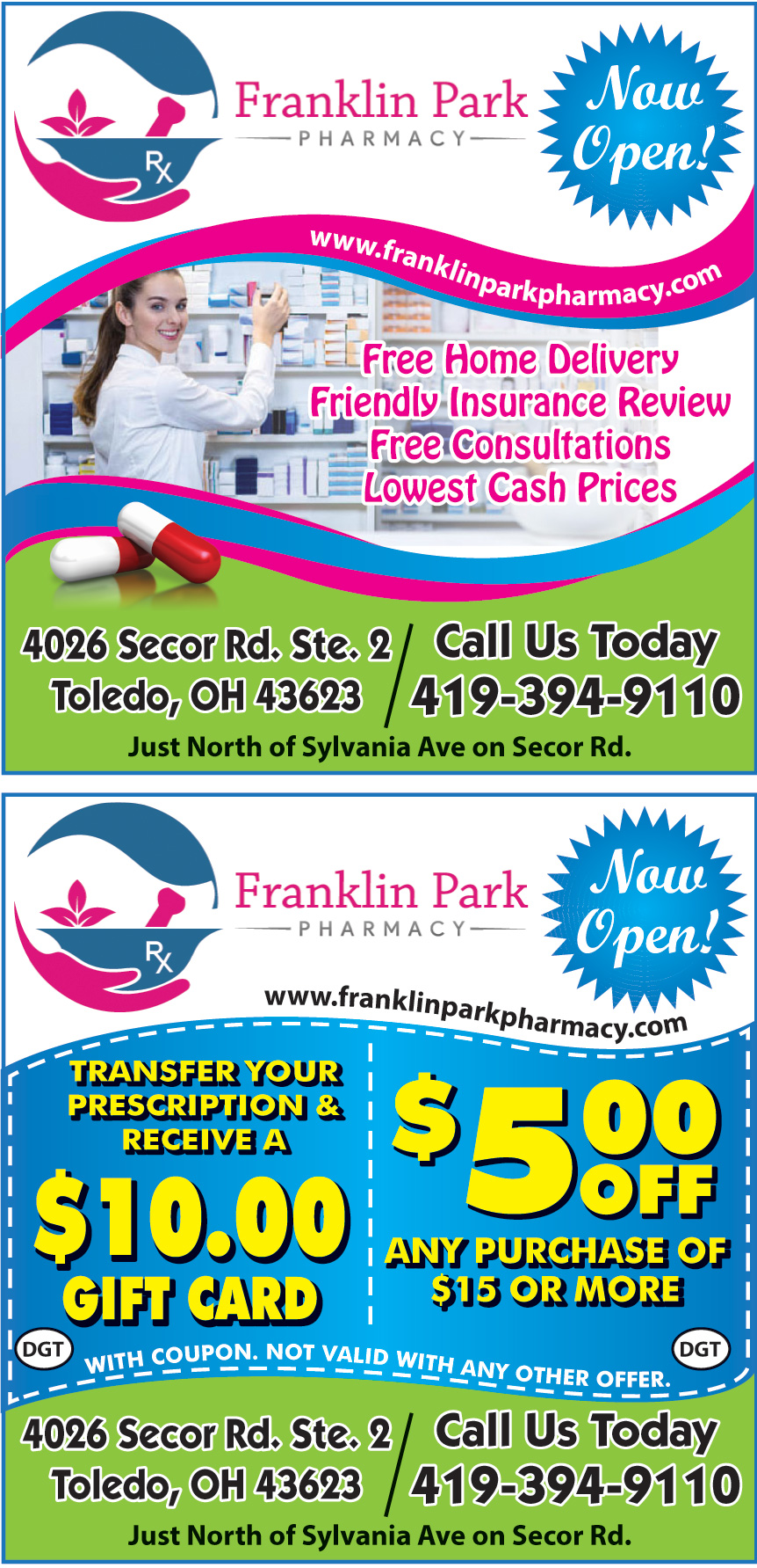 FRANKLIN PARK PHARMACY
