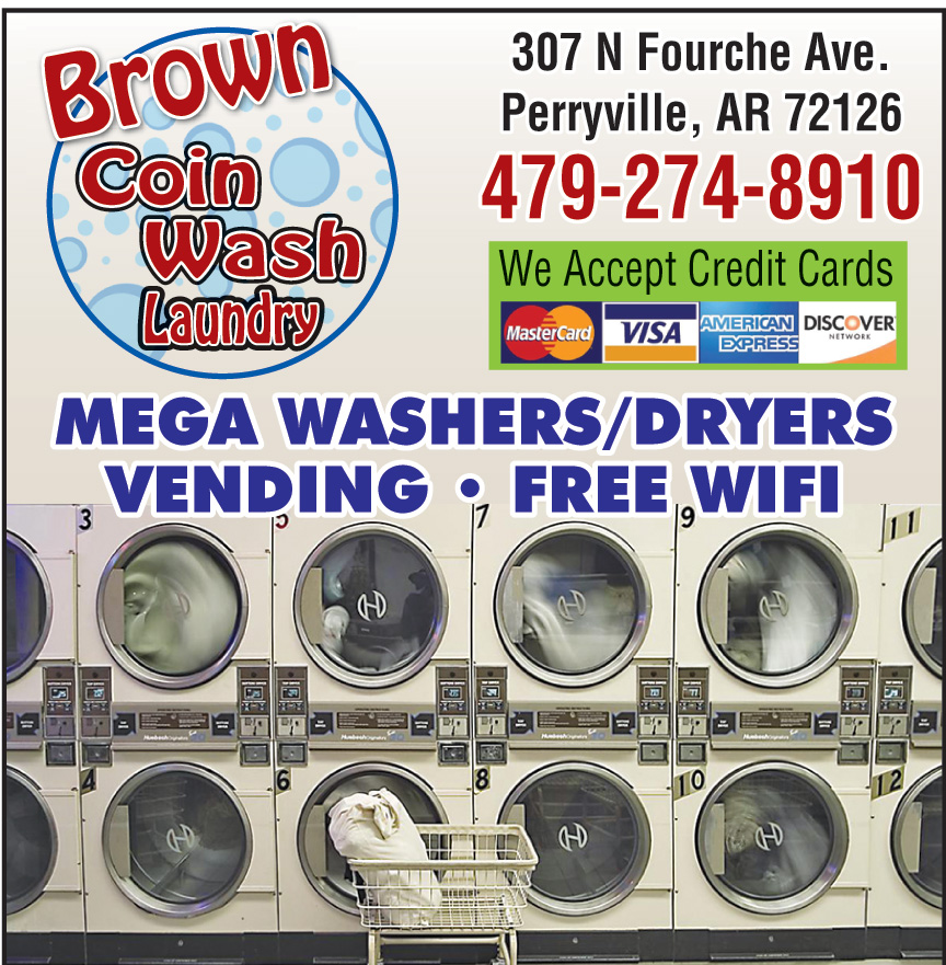 BROWN COIN LAUNDRY