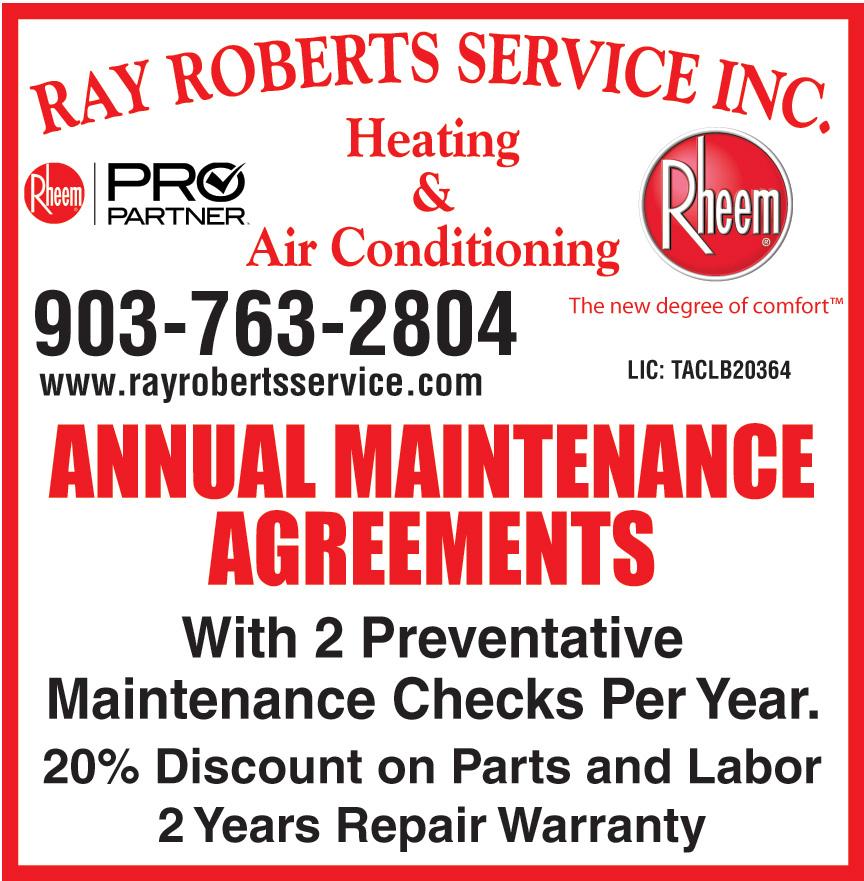 RAY ROBERTS SERVICE INC