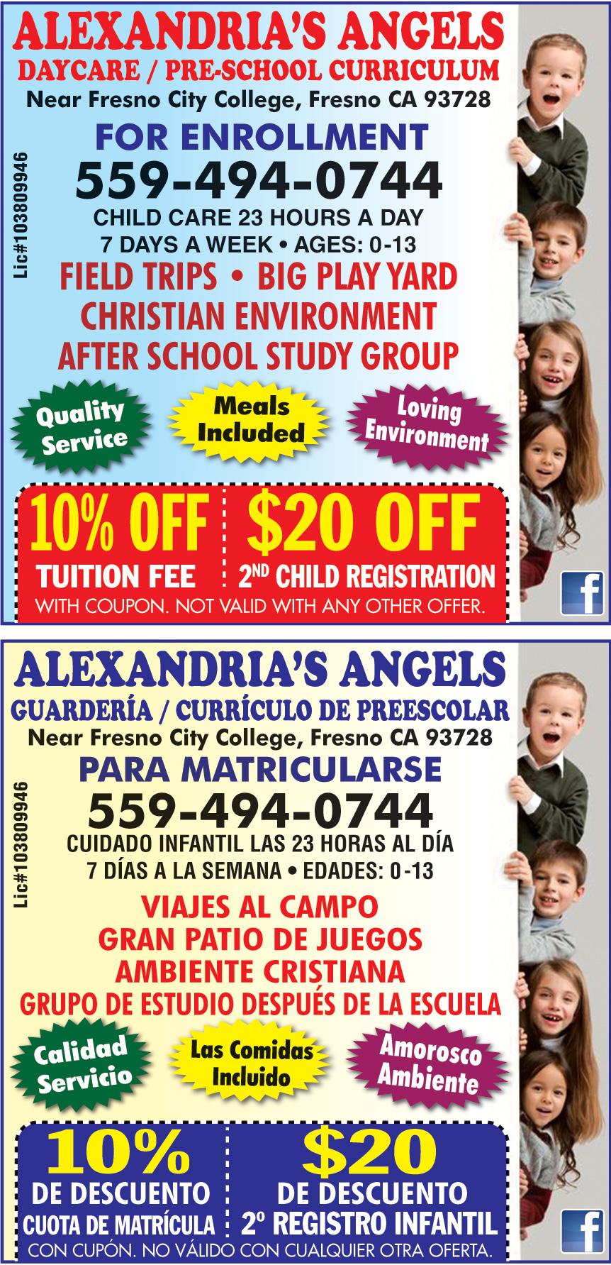 ALEXANDRIAS ANGELS DAYCAR