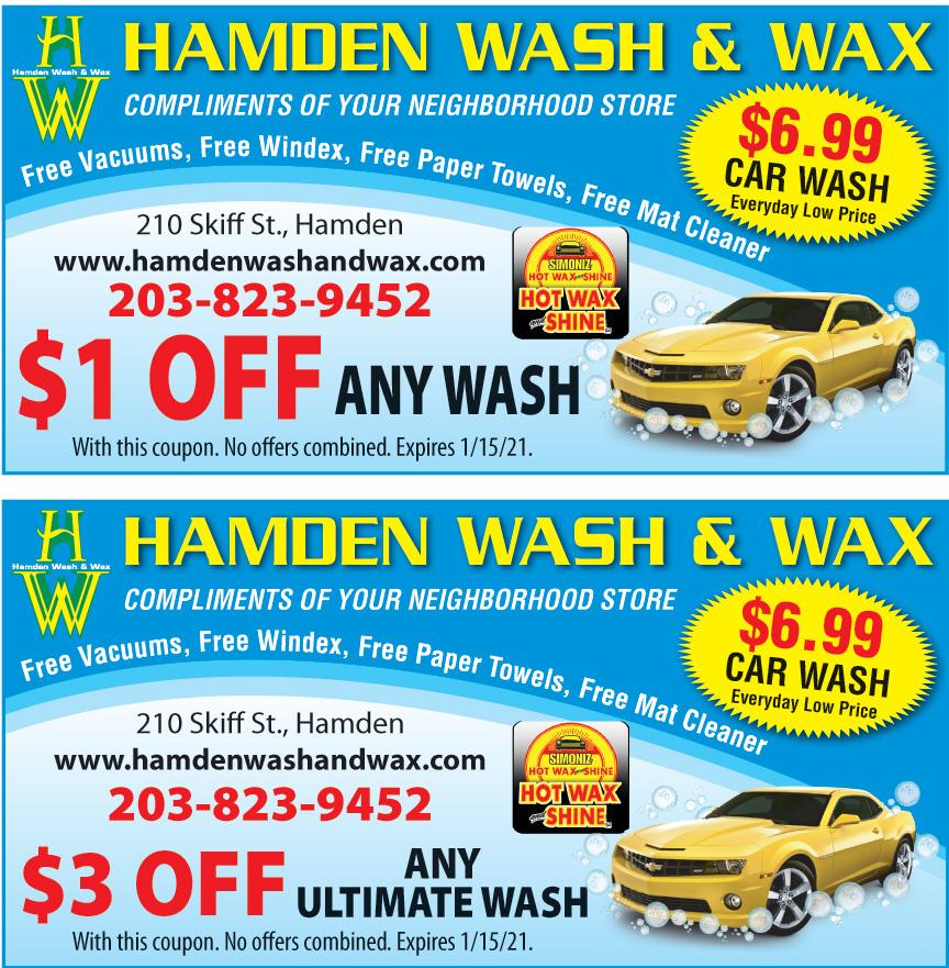 HAMDEN WASH AND WAX