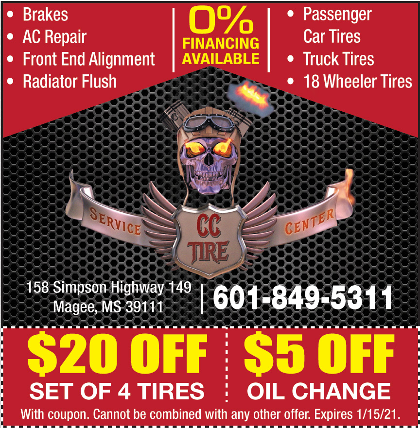 CC TIRE AND SERVICE