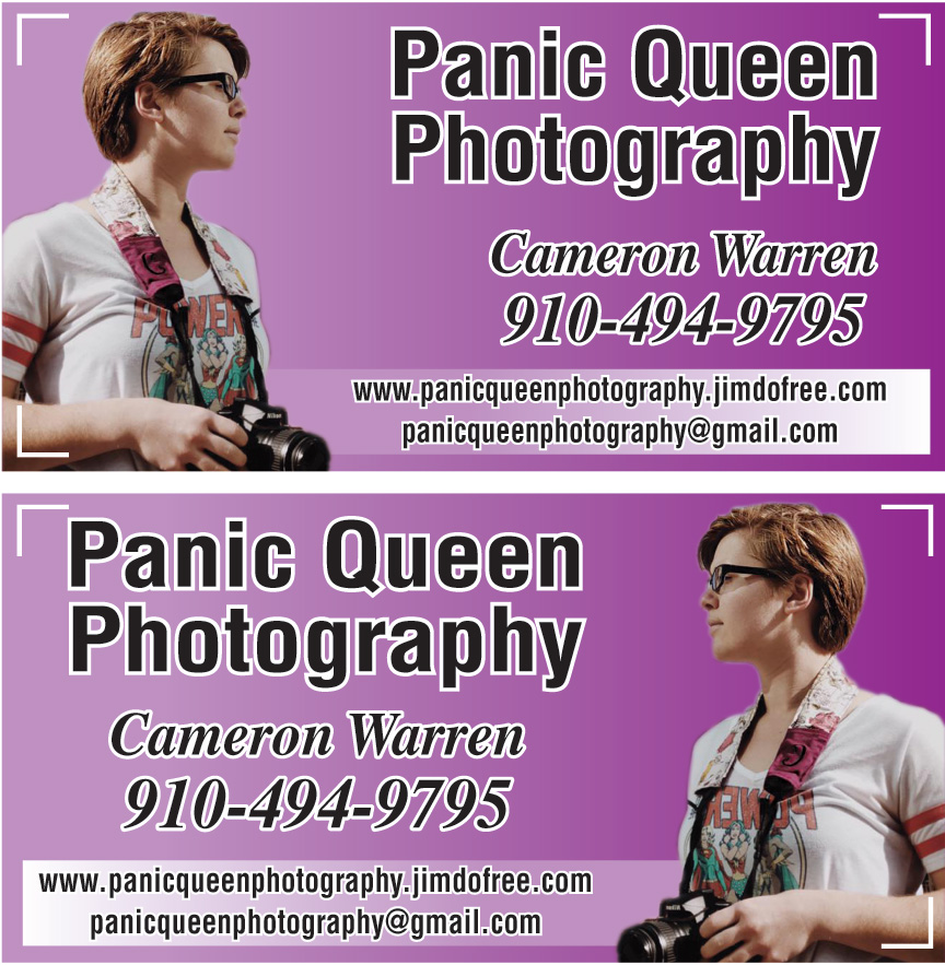 PANIC QUEEN PHOTOGRAPHY