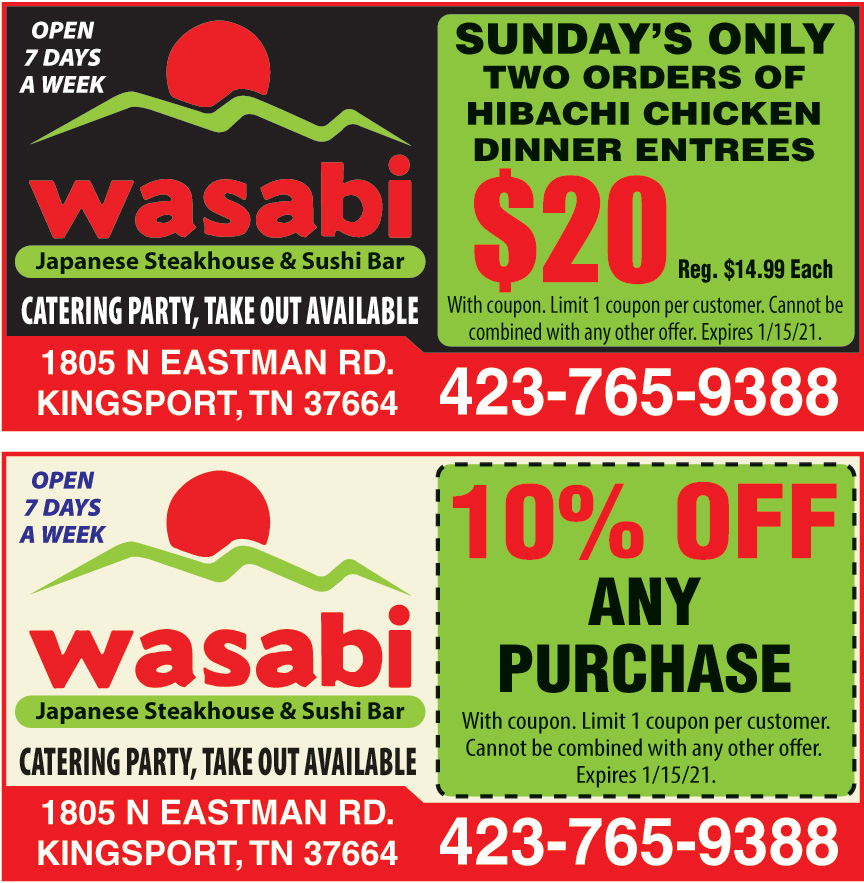 WASABI JAPANESE SUSHI BAR