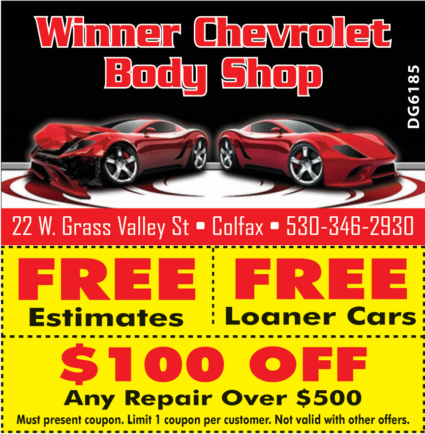 WINNER CHEVROLET BODY
