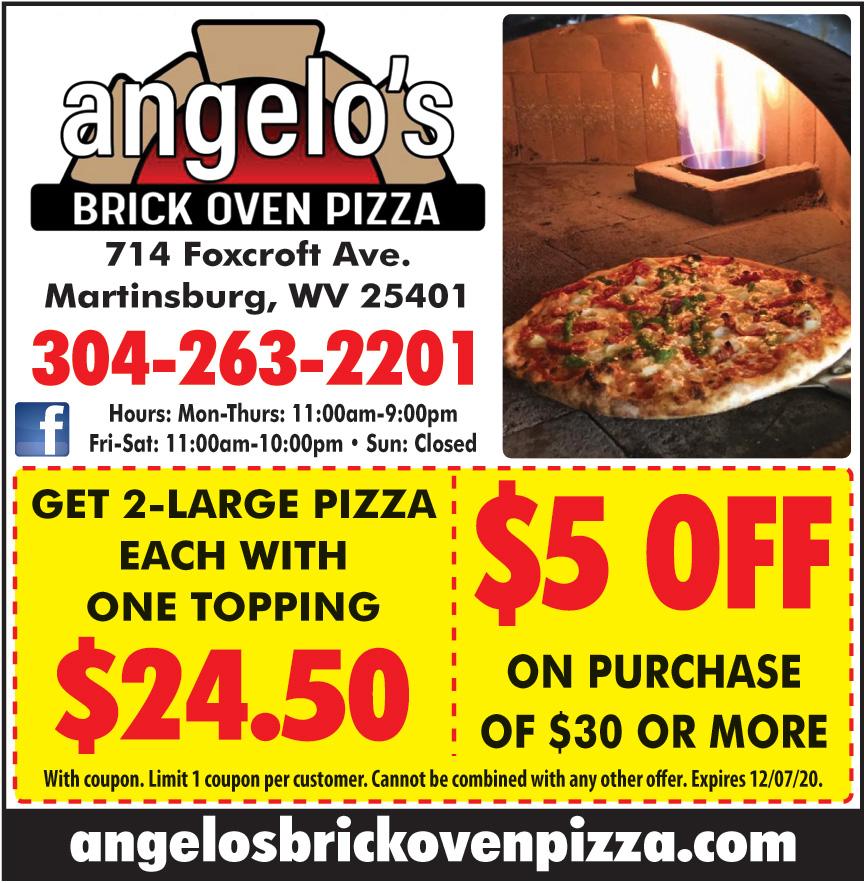 ANGELOS BRICK OVEN PIZZA