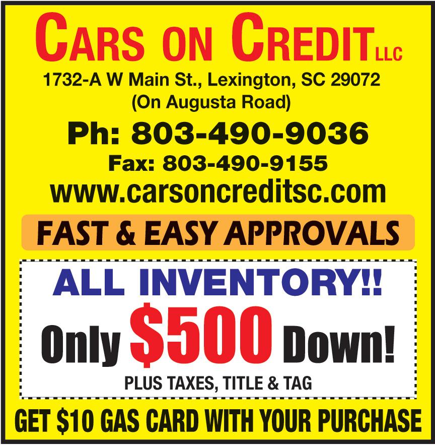 CARS ON CREDIT LLC