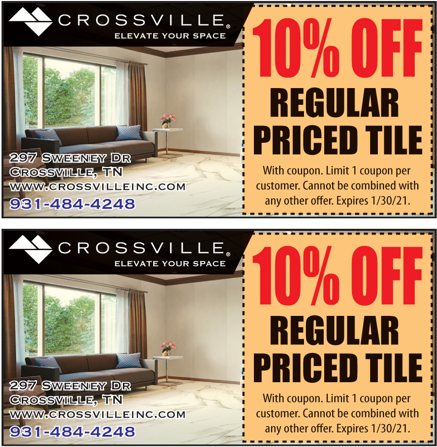 CROSSVILLE INC TILE OUTLE
