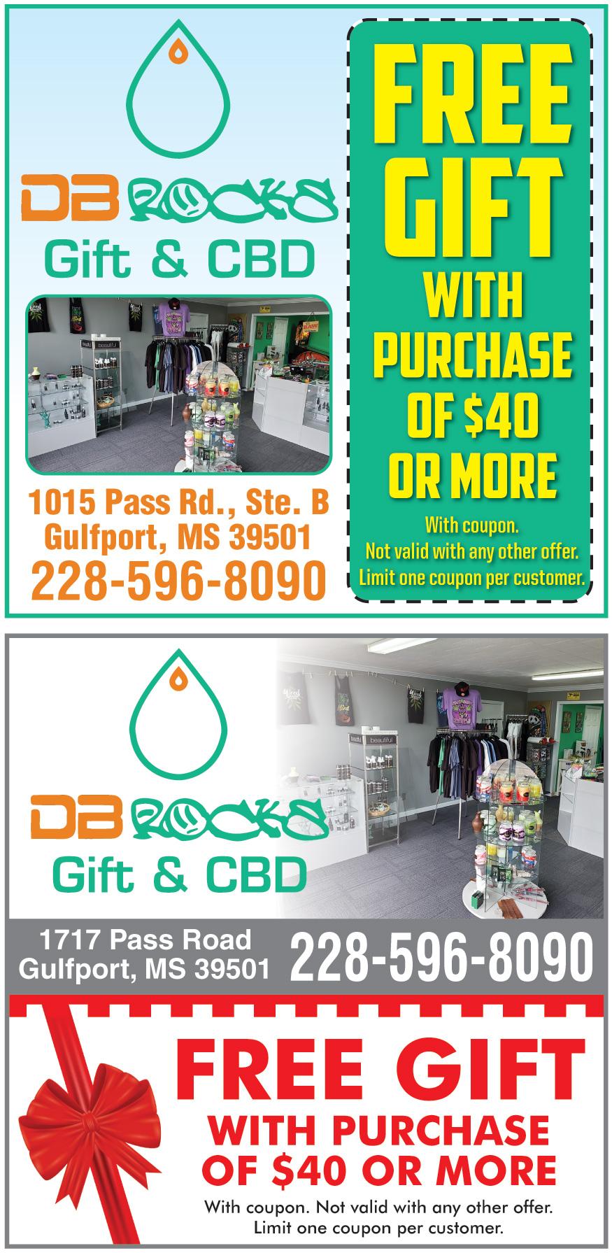 DB ROCKS GIFT SHOP AND