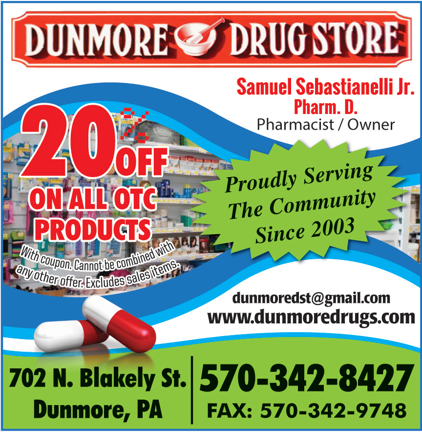 DUNMORE DRUG STORE