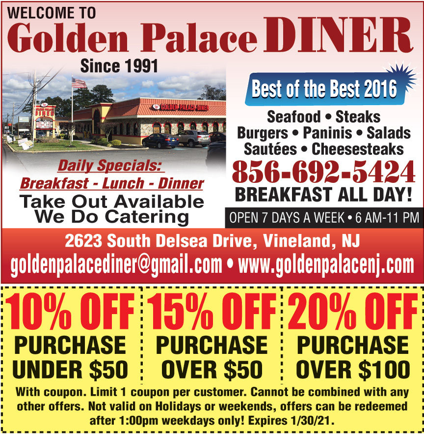 GOLDEN PALACE DINER