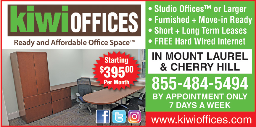 KIWI OFFICES MOUNT LAUREL