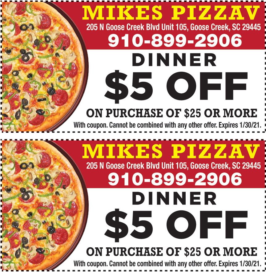 MIKES PIZZAV