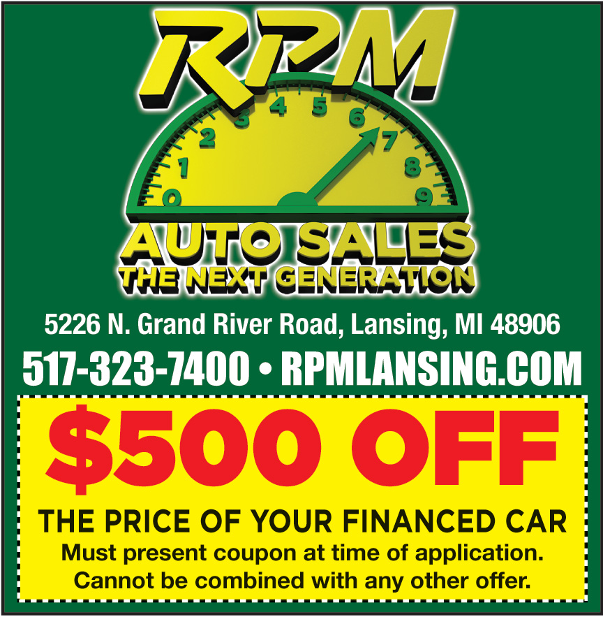 RPM LANSING GRAND RIVER