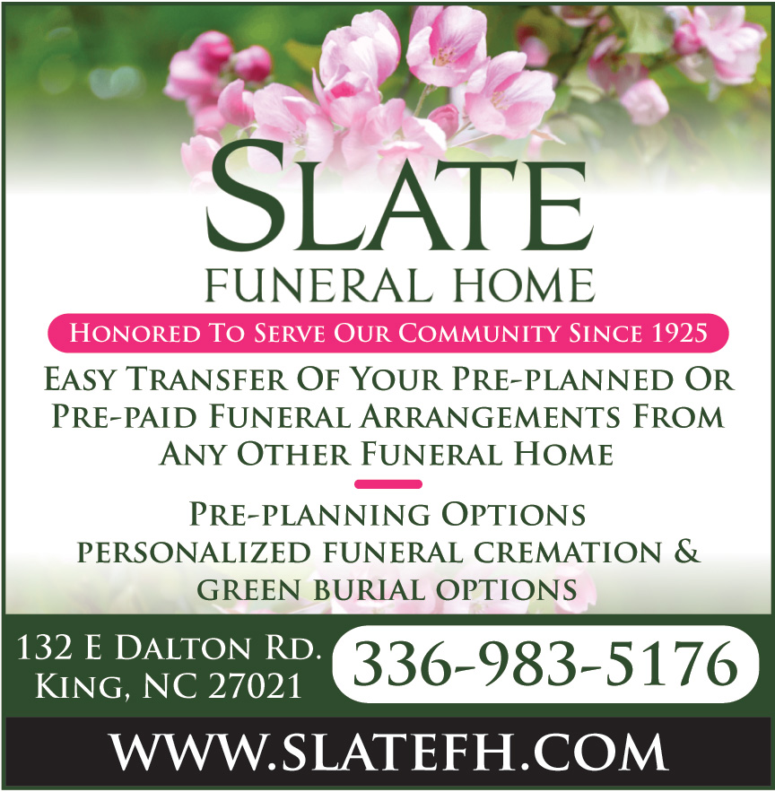 SLATE FUNERAL SERVICES