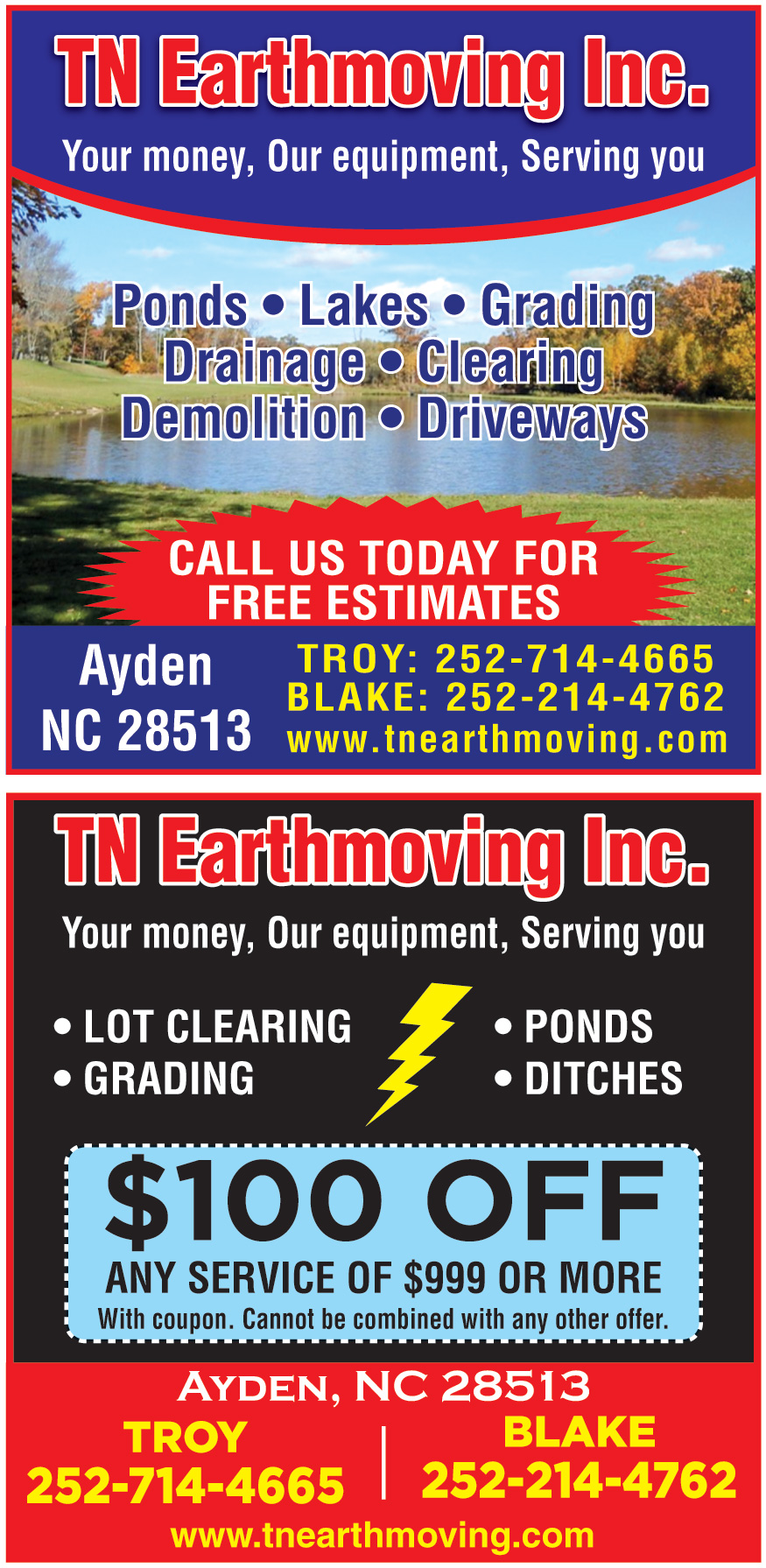 TN EARTHMOVING