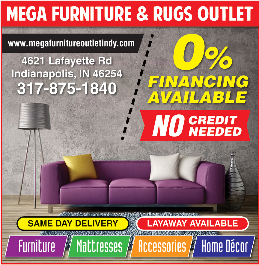 MEGA FURNITURE AND RUGS