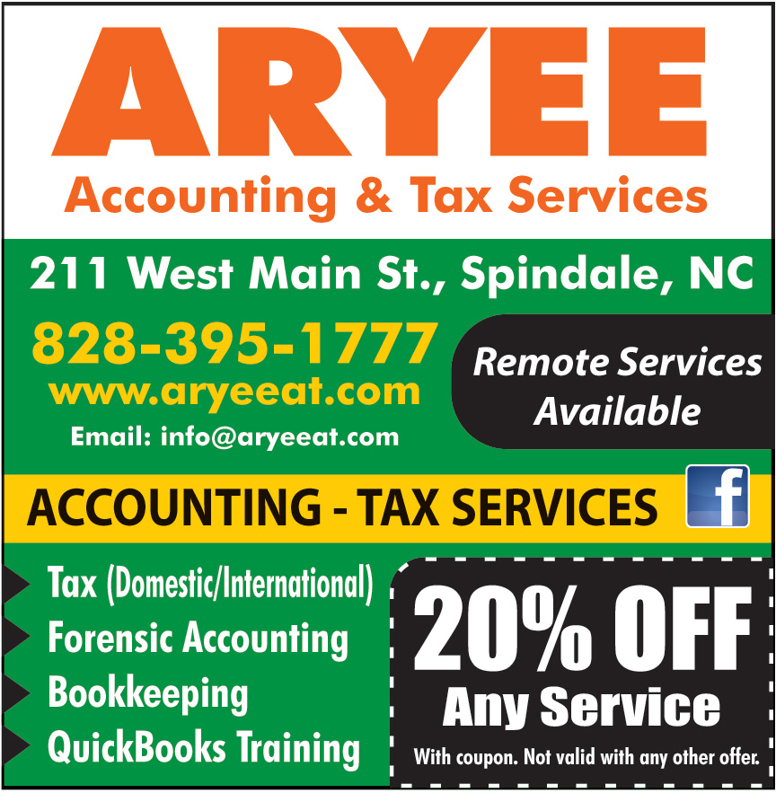 ARYEE ACCOUNTING AND TAX