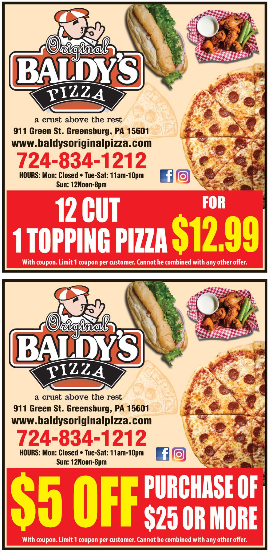 BALDYS PIZZA