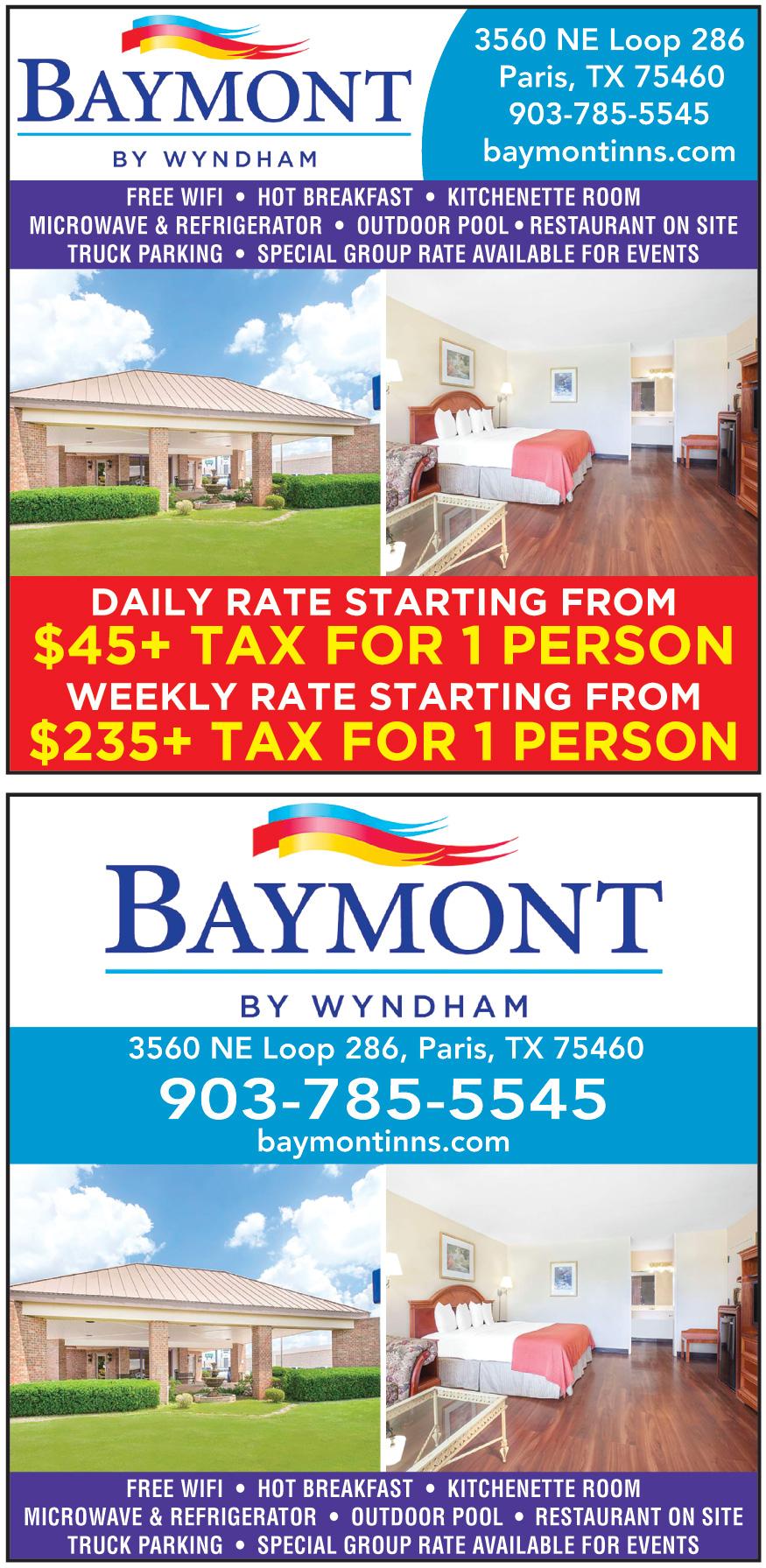 BAYMONT BY WYNDHAM PARIS